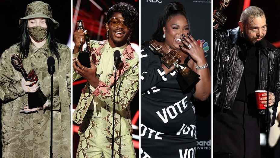 BBMA Winners Billie Eilish Lil Nas X Lizzo Post Malone