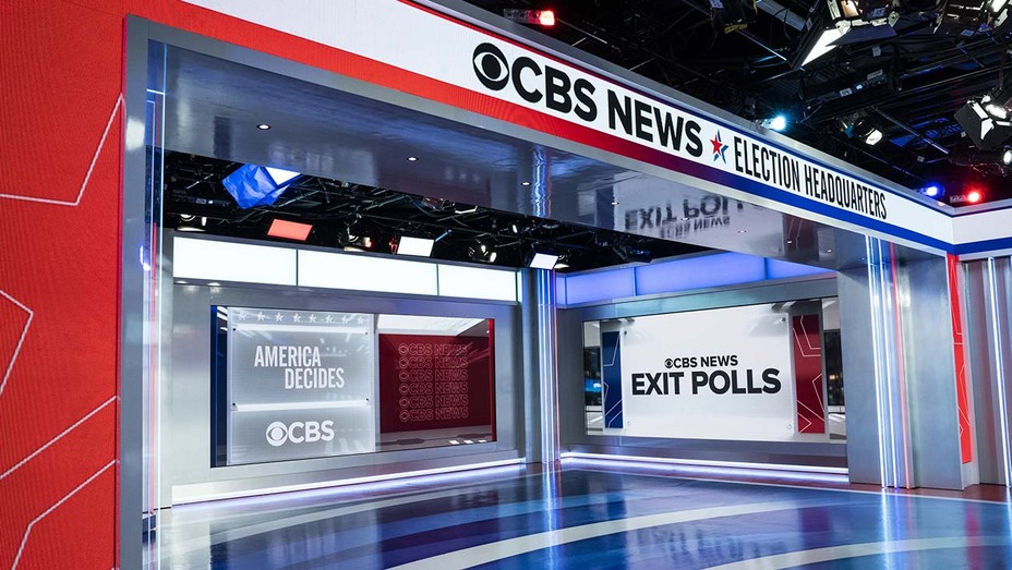 CBS News 2020 Election Headquarters -Election Night Set