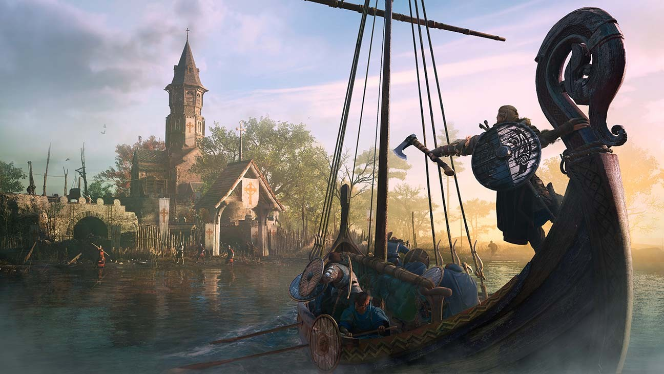 Assassin S Creed Valhalla Game Director On Emphasizing Player Agency Amid Viking Combat Hollywood Reporter