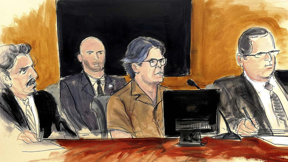 Sketch Keith Raniere in court