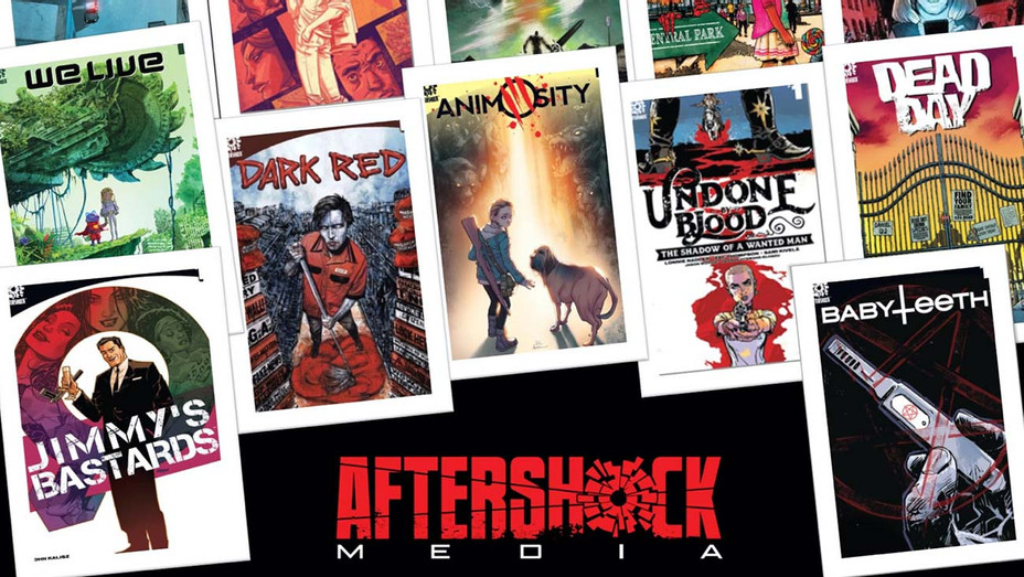 After Shock Media Cover Book Art