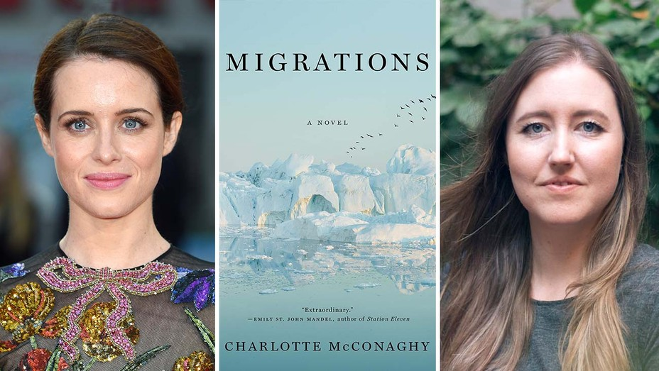Claire Foy, Book Cover of Migrations, Charlotte McConaghy