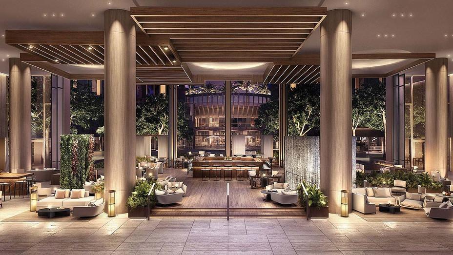 Fairmont Century Plaza Hotel Lobby
