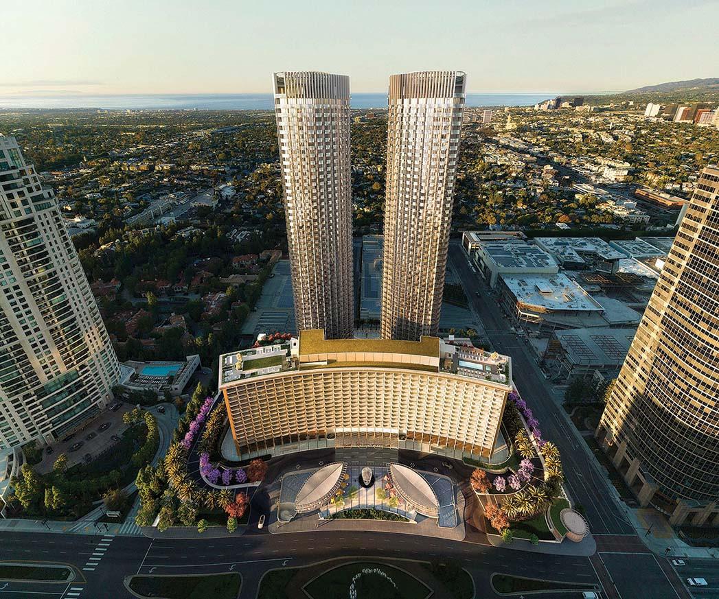 Fairmont Century Plaza zwei neue Wohntürme