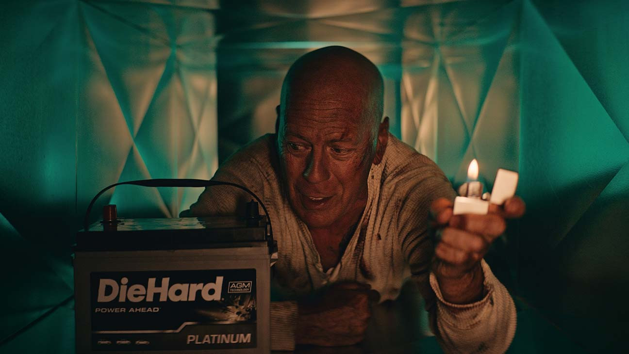 Bruce Willis Reprises John McClane Role in Epic DieHard Battery Commercial