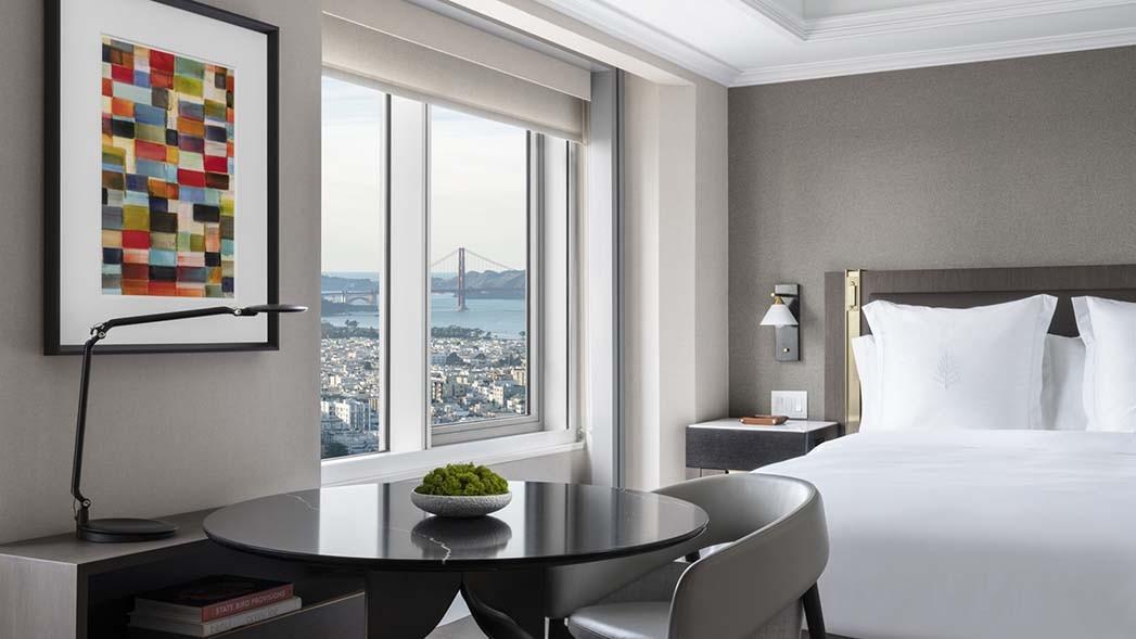 Ein Zimmer im neuen Four Seasons San Francisco in Embarcadero
