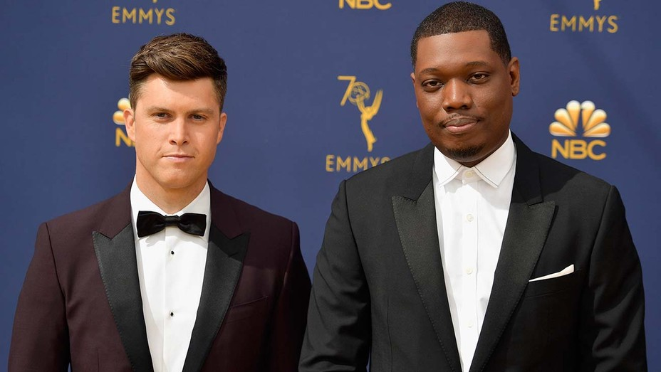 Colin Jost And Michael Che Went To Chris Rock S House To Convince Him To Host Snl Season Opener Hollywood Reporter