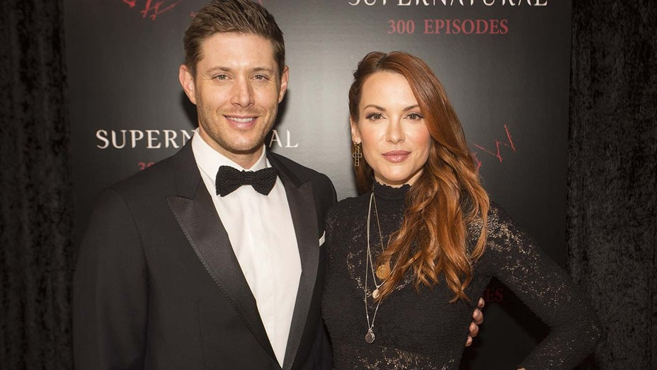 Jensen Ackles and Danneel Ackle Supernatural 300th Episode Celebration