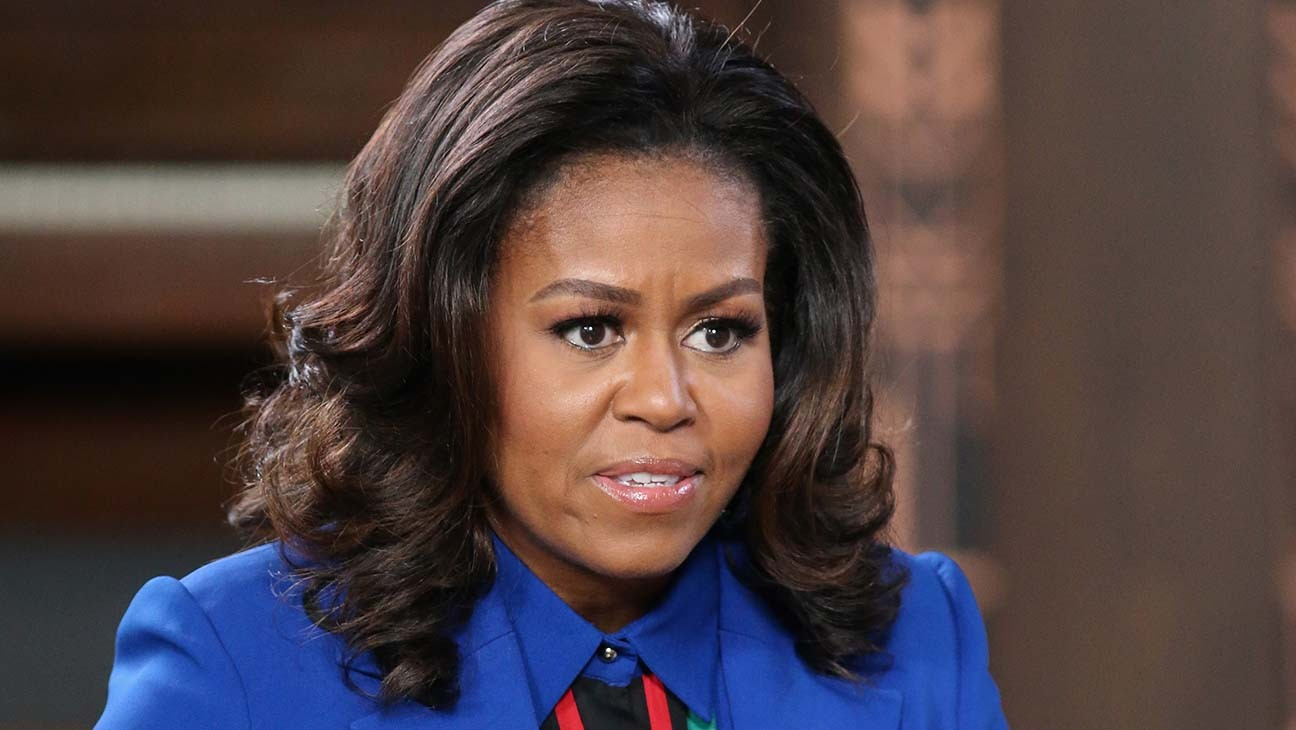 "Michelle Obama Says ""Our Country Is in Chaos"" Because of Trump"