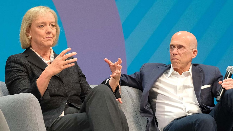 Meg Whitman and Jeffrey Katzenberg