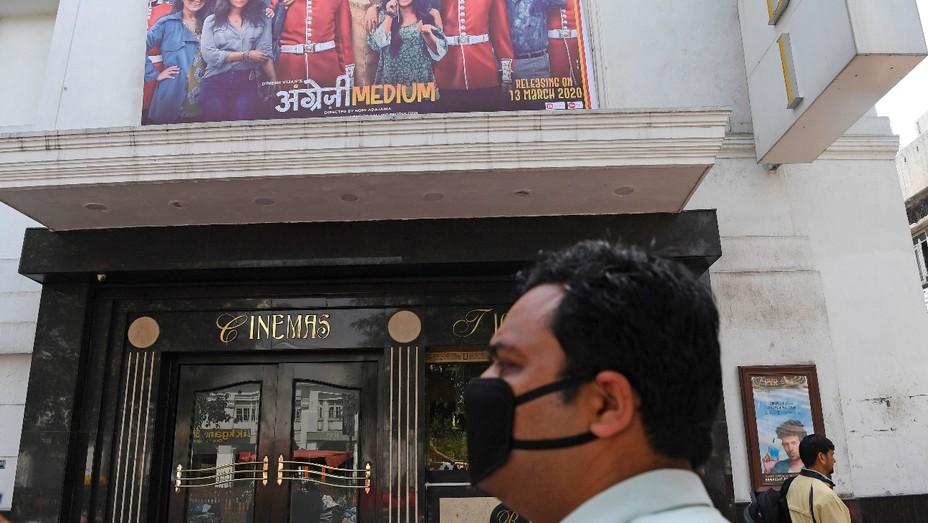 Indian cinemas closed during pandemic