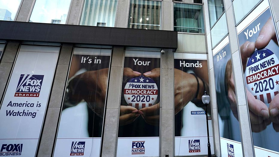 Fox News headquarters on 6th Avenue in New Yor