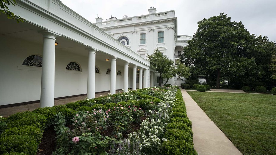Rose Garden at the White House