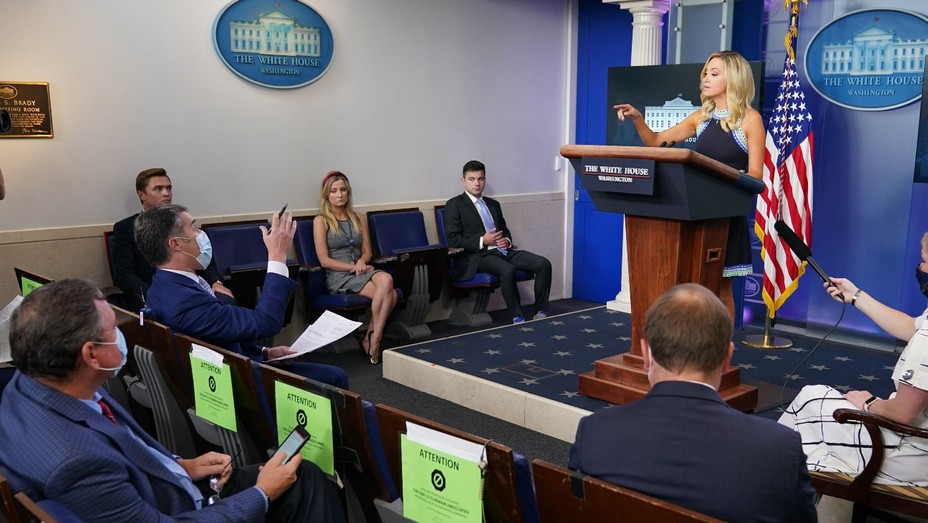 White House Press Room - Getty - H 2020 - 1601922458