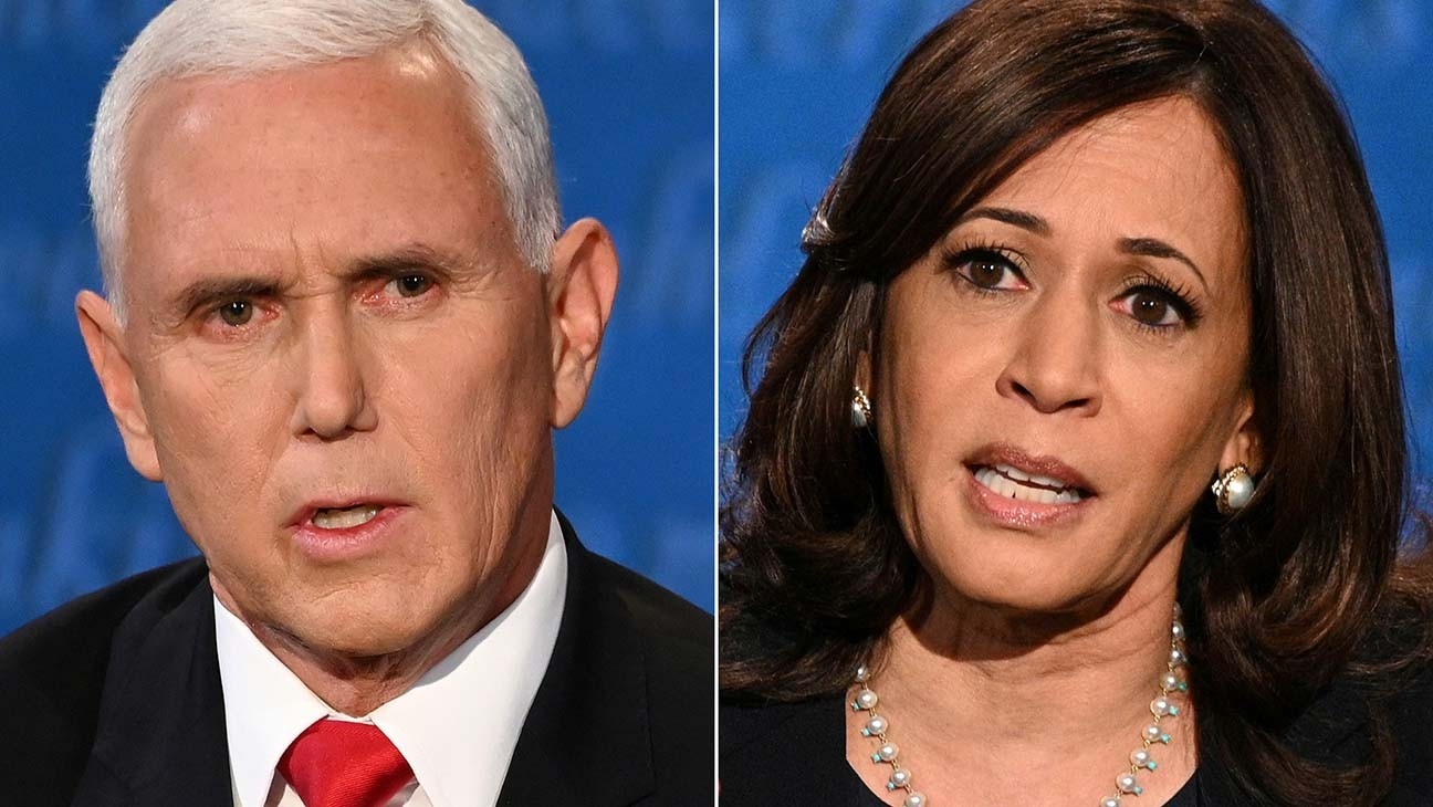Critic's Notebook: Kamala Harris Rises Above a Mansplaining Mike Pence in Vice Presidential Debate