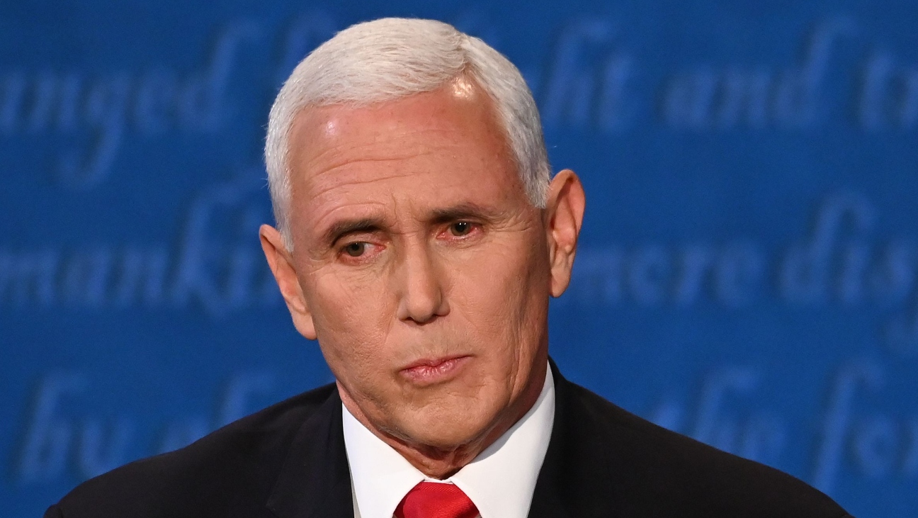 Mike Pence's Eye (And a Fly) Become Hot Topics on Social Media During VP Debate
