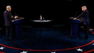 Critic's Notebook: Biden Holds Steady, Trump Tones It Down in Final Presidential Debate