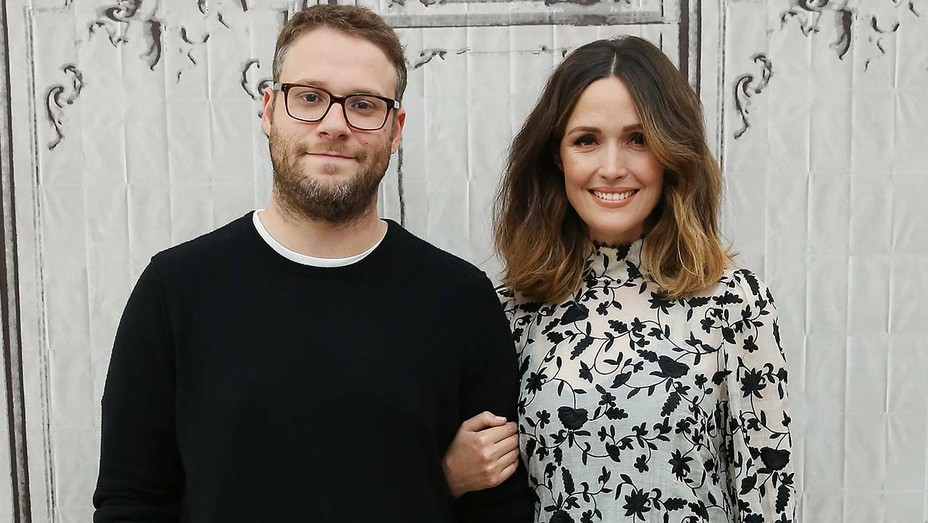 Seth Rogen and Rose Byrne
