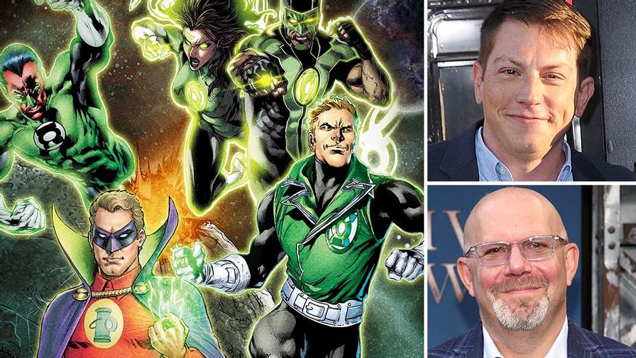 Green Lantern art and Seth Grahame-Smith, Marc Guggenheim