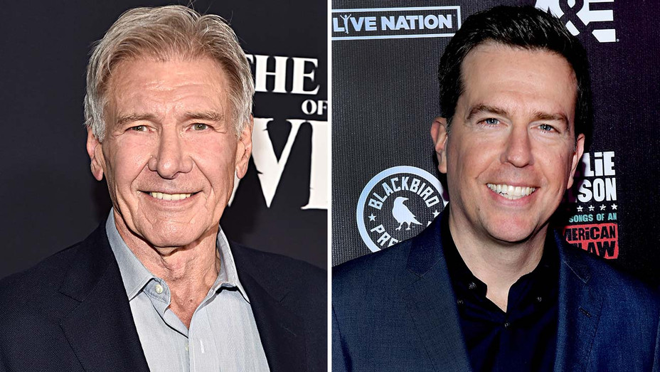 Harrison Ford and Ed Helms