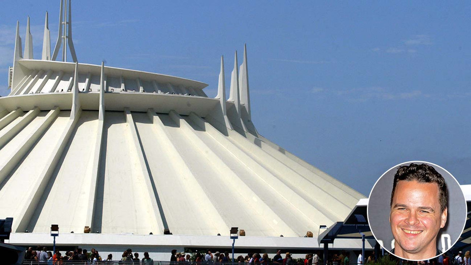 Space Mountain Inset Joby Harold