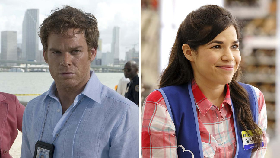 Dexter Michael C Hall and Superstore America Ferrera