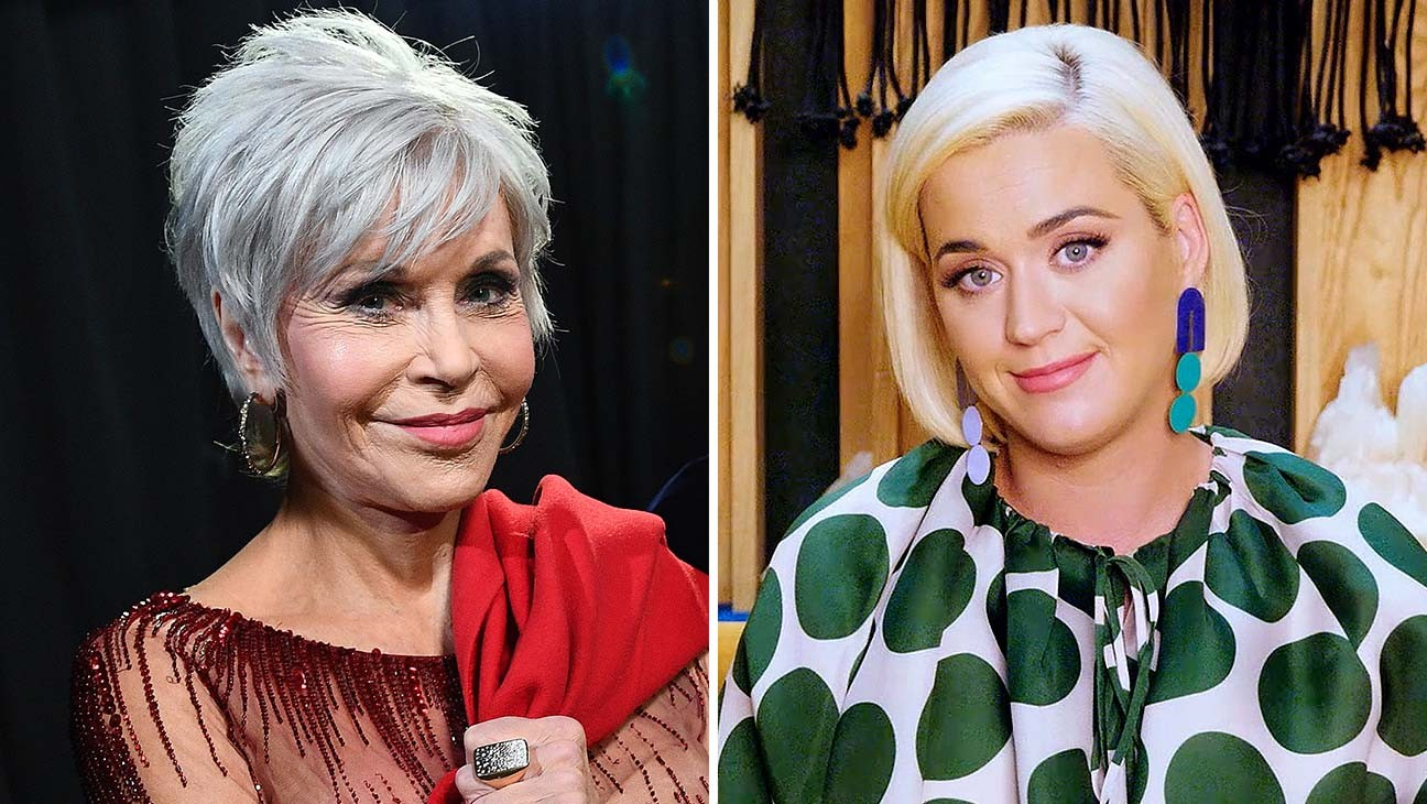 "Jane Fonda, Katy Perry, Ashley Benson, Vanessa Hudgens and More ""Exercise That Vote"""