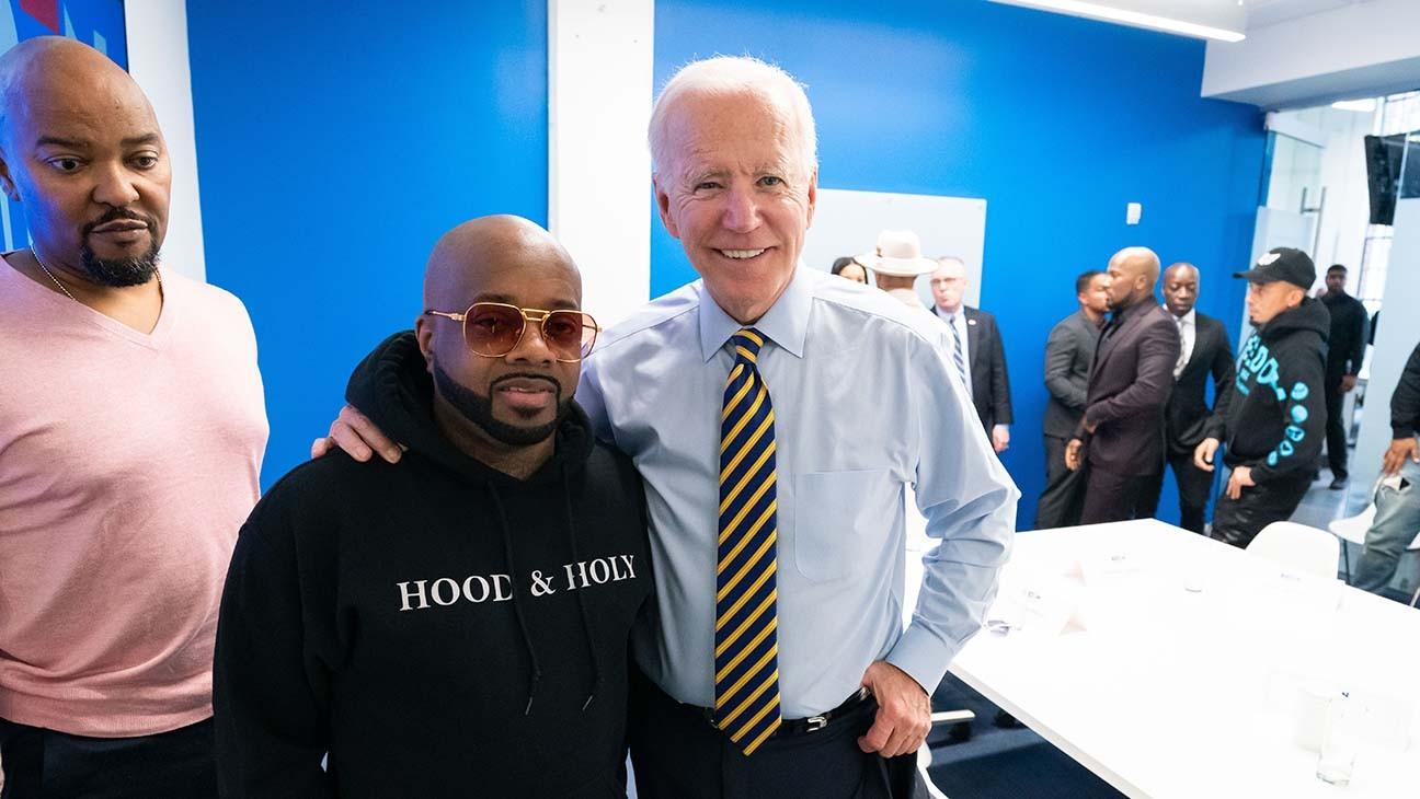 """Biden Campaign Enlists Jermaine Dupri, Ludacris for """"Get Out The Vote"""" Ads"""