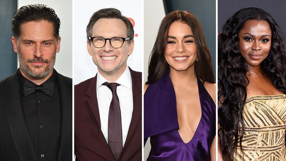 Joe Manganiello, Christian Slater, Vanessa Hudgens, Yetide Badaki