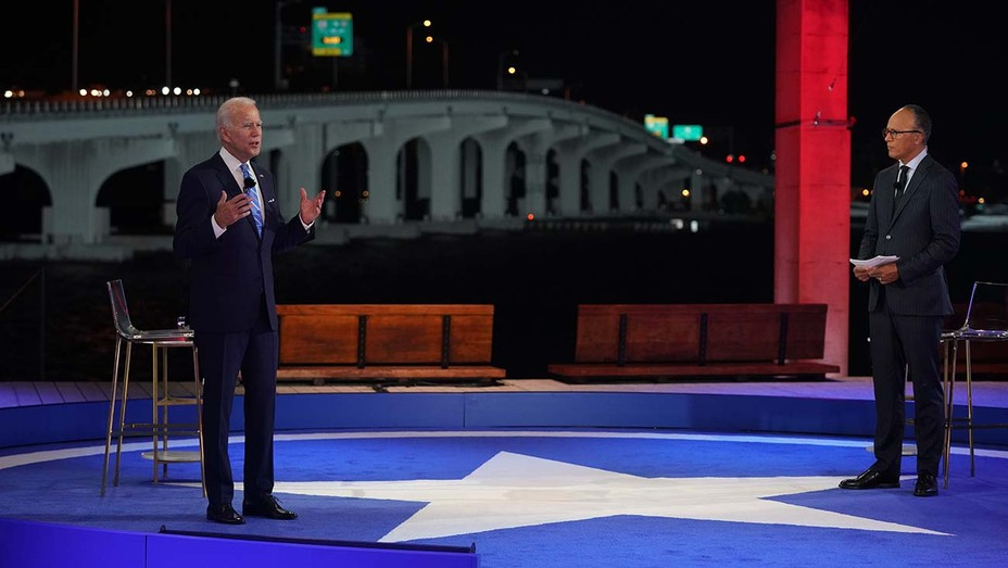 Joe Biden at the Presidential Town Hall