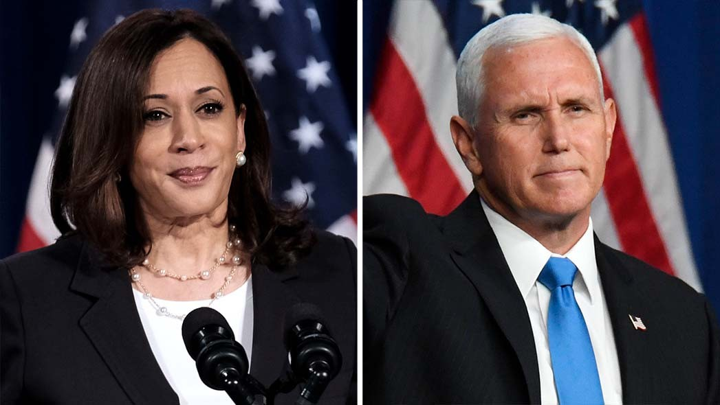 Watch Live Kamala Harris And Mike Pence Participate In First Vice Presidential Debate Hollywood Reporter