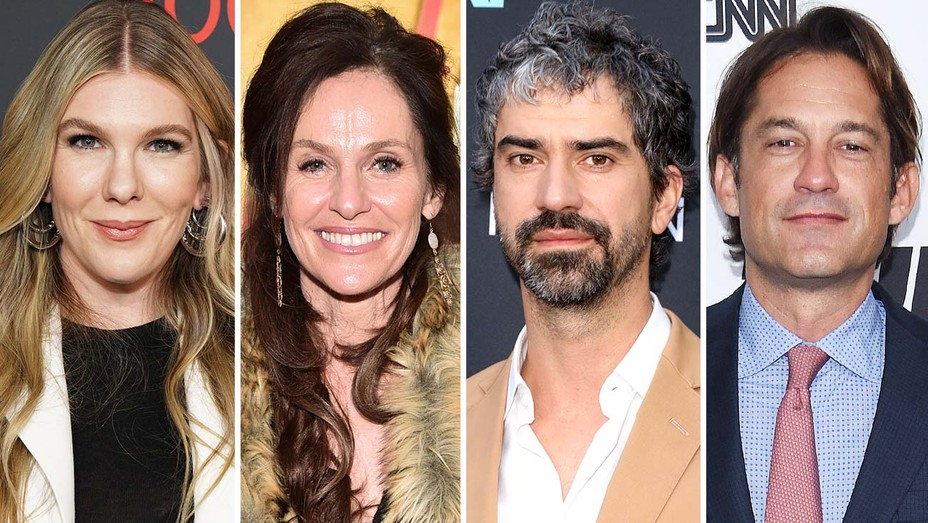 Lily Rabe, Amy Brenneman, Hamish Linklater and Enrique Murciano