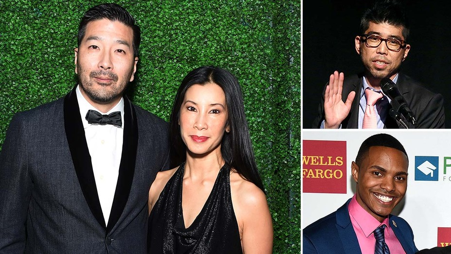Lisa Ling and Dr. Paul Song -insets of Kevin Iwashina and Ritchie Torres
