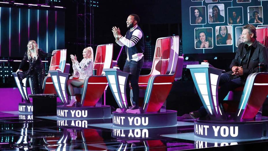 The Voice - Kelly Clarkson, Gwen Stefani, John Legend, Blake Shelton