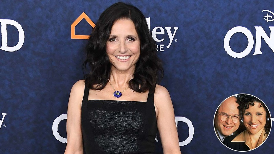 New-Julia-Louis-Dreyfuss-and-inset-of-George and Elaine