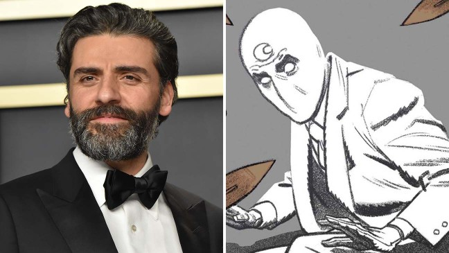 Oscar Isaac in Talks to Star in Marvel's 'Moon Knight' for Disney+