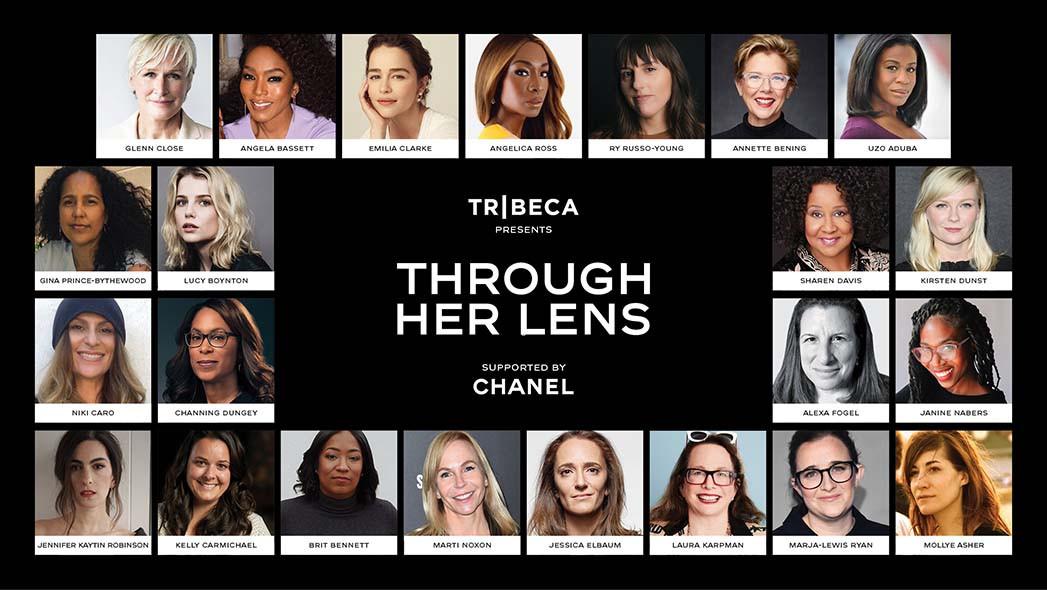 Tribeca und Chanel durch ihre Linse