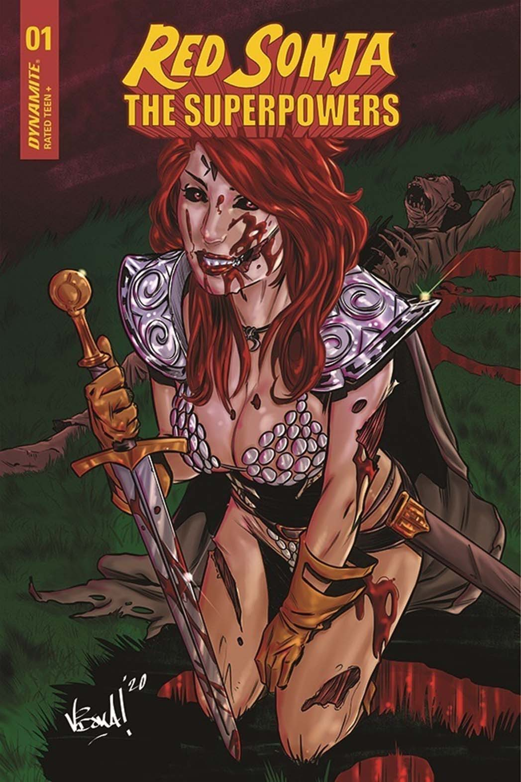 Red Sonja The Superpowers Announcement