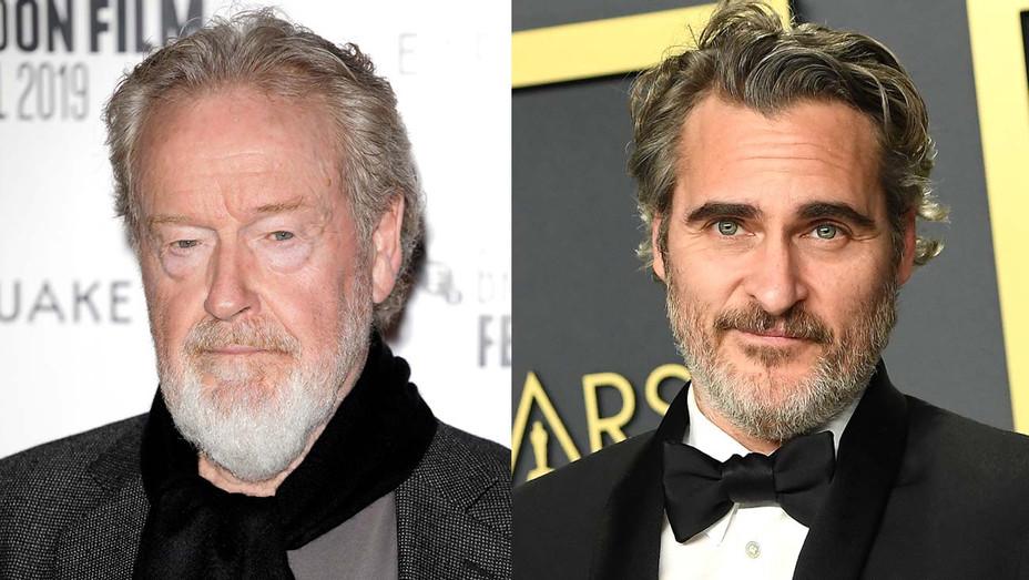 Ridley Scott-and-Joaquin Phoenix