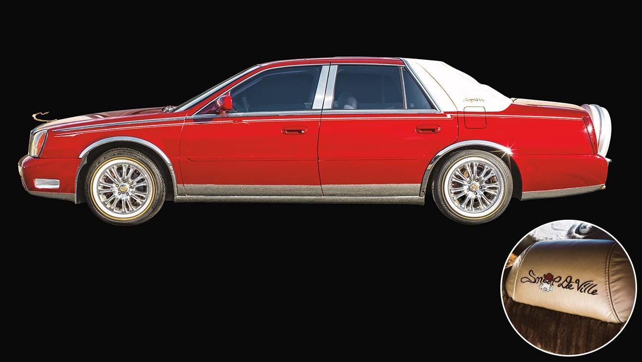 Snoop-Car-und-Detail-von-Snoop-DeVille