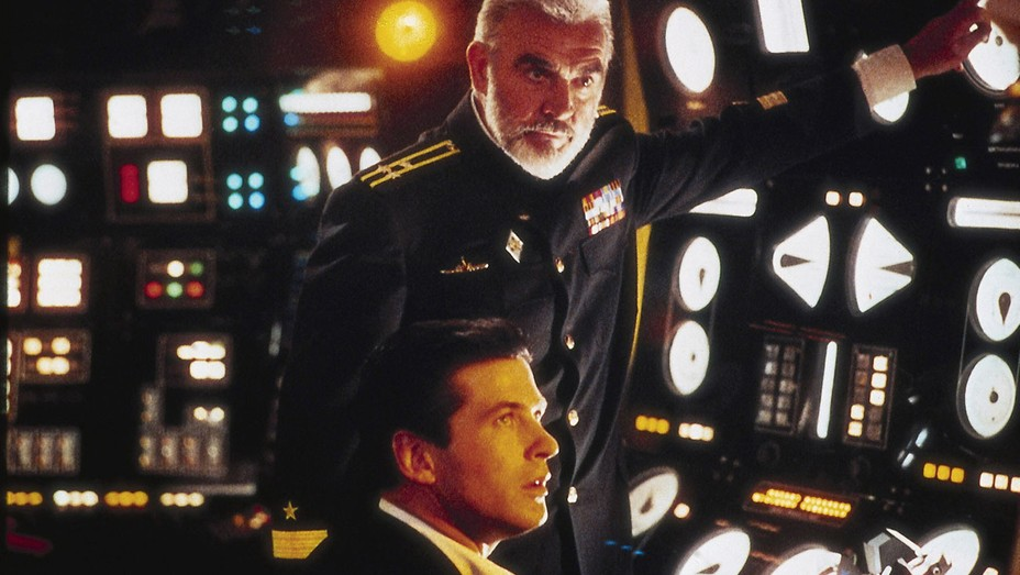 Sean Connery, Alec Baldwin in 'The Hunt for Red October'