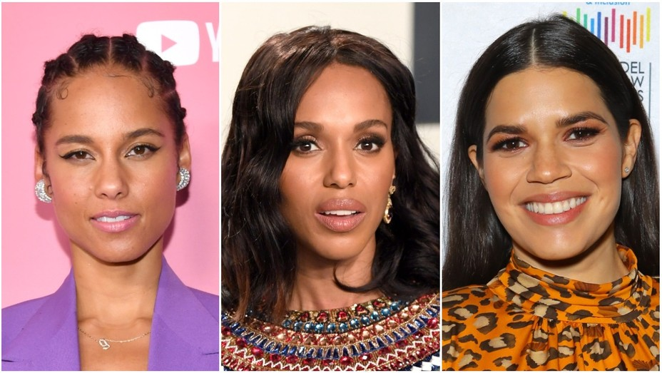 Alicia Keys, Kerry Washington and America Ferrera