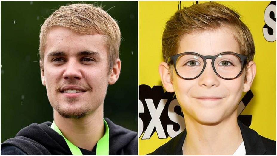 Justin Bieber, Jacob Tremblay