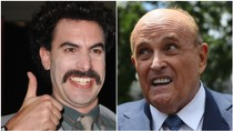 Borat Comes Out With Message of Support for Embattled Rudy Giuliani