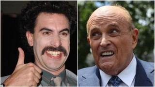 Rudy Giuliani Shown in Questionable Hotel Bedroom Scene in New 'Borat' Film