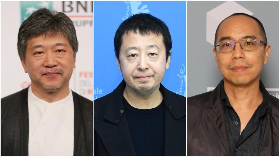 Hirokazu Kore'eda, Jia Zhang-ke and Apichatpong Weerasethakul
