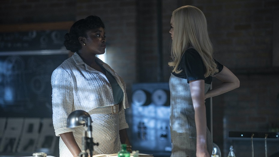 "Wunmi Mosaku abd Abbey Lee in ""Lovecraft Counry"""