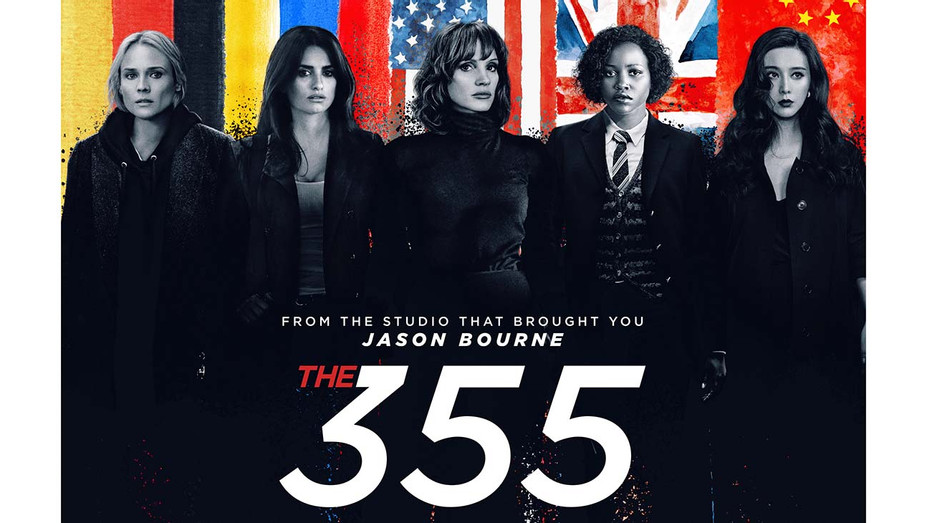 THE 355 Poster