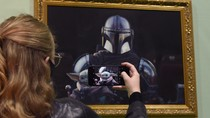 Baby Yoda Joins London's National Portrait Gallery with 'Mandalorian and the Child' Oil Painting