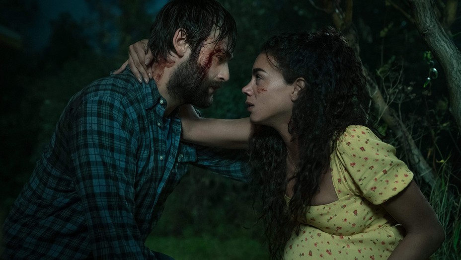 Douglas Booth and Hannah John-Kamen in 'The Little People'